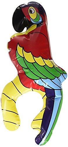 Römote 28cm internationaler aufblasbarer Schulter-sitzender Papagei, Piraten-Schatz-Abendkleid-karibische Stütze-Partei-Dekoration