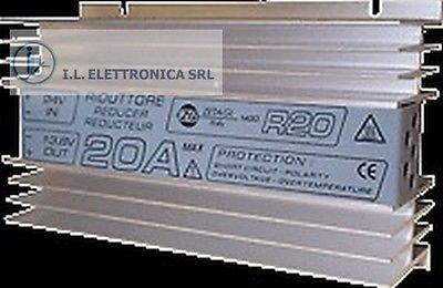 ZETAGI R20 RIDUTTORE DI TENSIONE 24-12 Vcc 20 A max.