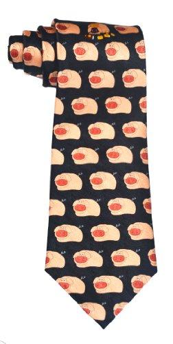 100% pure soie de porc thème de la mode cravate