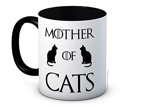 Mother of Cats - Game of Thrones Parodia - - Taza de Café de Cerámica