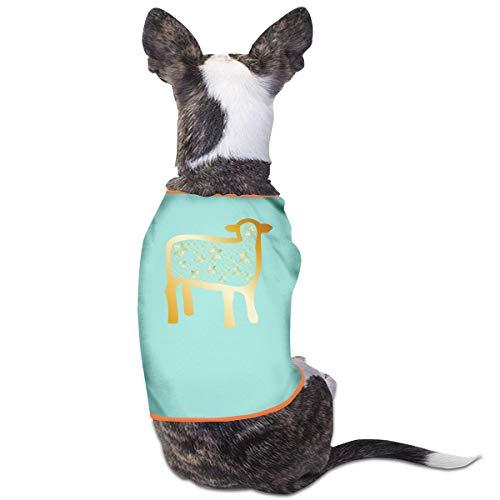 CCYK Chaleco de Cabra para Perro de Cabra, para otoño, Invierno, cálido, Ropa para Mascotas para Perros pequeños y Grandes, Chihuahua, Pug y Bulldog francés