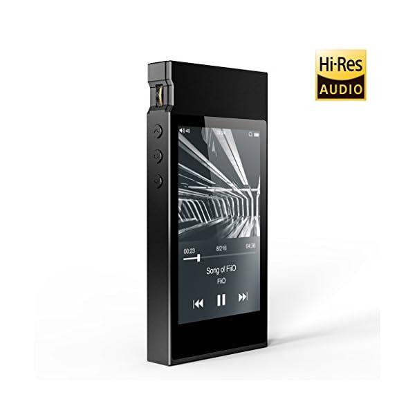 High Resolution Lossless Music Player with aptX, aptX HD, LDAC HiFi Bluetooth, FM Radio and Full Touch Screen 6