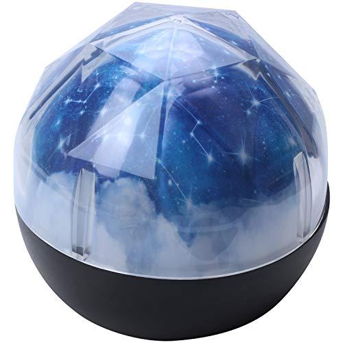Fltaheroo Luz de noche LED cielo estrellado estrella mágica luna planeta proyector lámpara cosmos universo luminaria bebé guardería luz para regalo de cumpleaños