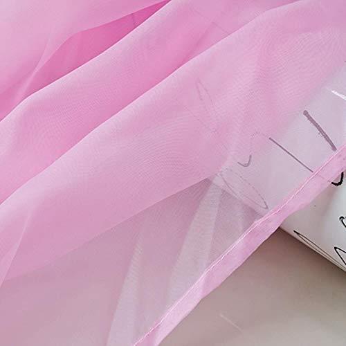 Regenboog Kleurrijke Voile Gordijnen Teryleen Bruiloft Cinema Gordijn Achtergrond Slaapkamer Raam Scherm Gaas 184D, kleur 3,1pcs B100xH180 cm