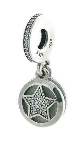 Charm colgante 'Estrella de la Amistad' de Pandora en plata 792148EN23