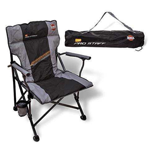 Zebco Pro Staff Stuhl Supreme, grau/schwarz, 42 cm