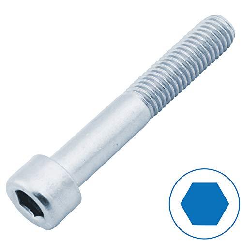 D2D | VPE: 10 Stück - Zylinderschrauben mit Innensechskant - Größe: M8 x 60 mm - DIN 912 verzinkt | Zylinderkopfschrauben