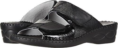 David Tate Women's Heeled Sandals, Black Multi, 8 Narrow