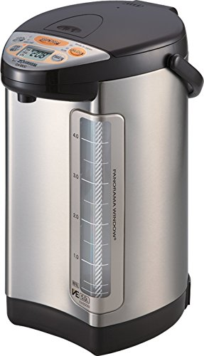 Zojirushi 586362-CV-DCC50XT America Corporation Ve Hybrid Water Boiler And Warmer, 5-Liter, Stainless Dark Brown (Renewed)