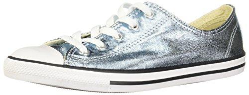 Converse Damen Chuck Taylor All Star Dainty OX Sneaker, Blau Blue Coastblackwhite), 37 EU