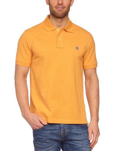 OTTO KERN Herren Poloshirt Regular Fit 35020/43024, Gr. 48 (S), Orange (470)