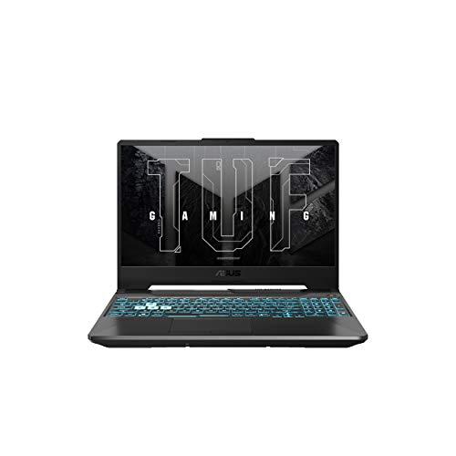 "ASUS TUF Gaming A15 (2021), 15.6"" FHD 144Hz, AMD Ryzen75800H, GeForceRTX3060 6GB Graphics, Gaming Laptop (16GB/512GB SSD/Office 2019/Windows 10/Graphite Black/2.3 kg), FA506QM-HN008TS"