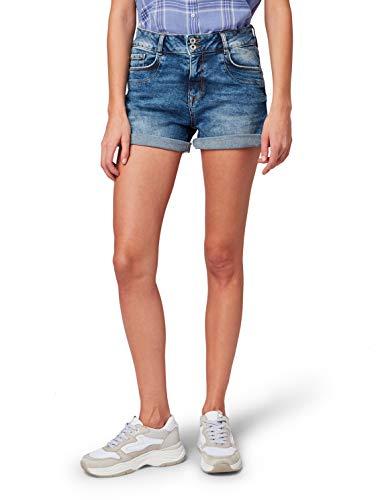 TOM TAILOR Denim Damen Jeans Cajsa taubenblau S (29)