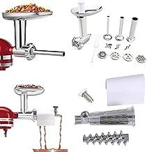 aikeec Extracteur de jus de tomate + accessoires de hachoir à viande pour Kitchenaid batteur sur socle (remplacement), acc...