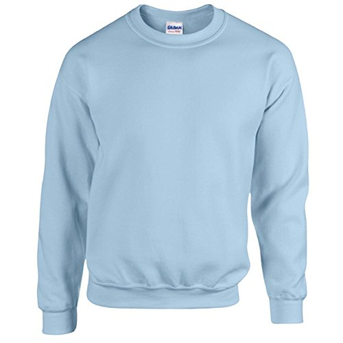 Gildan Heavy Blend Erwachsenen Crewneck Sweatshirt 18000 XL, Light Blue