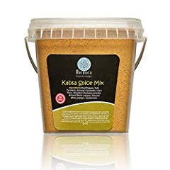 FLAVOR: Kabsa Spice Mix is an exotic blend of herbs and spices to make a Traditional Middle Eastern Meat and Rice Dish. Kabsa is enjoyed all over the Middles East and Mediterranean region. Turkish cuisine is healthy and nutritious and the Turks are p...