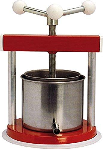 CELMS Torchietto torchio premitutto Laccato Acciaio Inox kg 9 Made in Italy