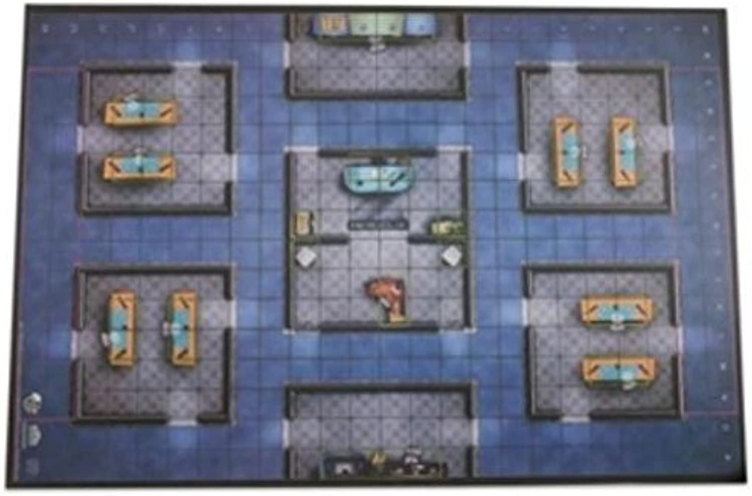 Collector's Premium Map - WizKids Office by HeroClix Game Accessories