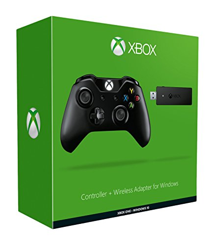 Xbox One Mando Para Pc (Windows) + Wireless Adaptador