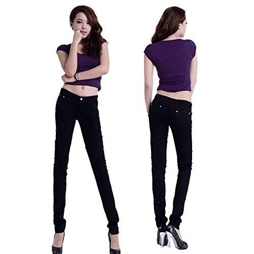 KXDNZK ZKKXDN Winter Boyfriend jeans voor vrouwen feestelijke kleding hoge taille jeans vrouwelijke stretch buizenjeans vrouw potlood plus size Mom Jeans