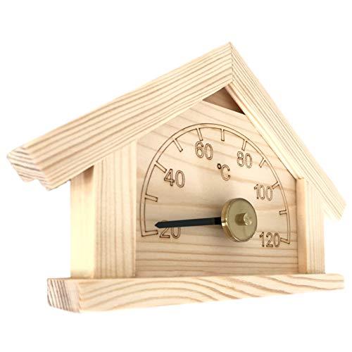 Saunathermometer - Kiefer -Häuschen- (Pinetta)