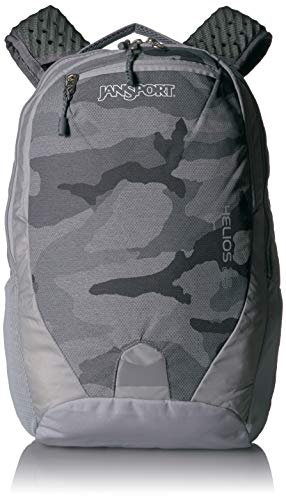 JANSPORT Helios 25 School & Hiking Backpack - Versatile Padded Sleeve Designed for a 15' Laptop or a 3L Hydration System   Arctic Camo
