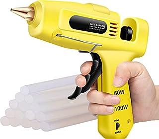 60 W / 100 W Pistolets à Colle électriques Double Puissance Avec 15pcs de Bâtons de Colle de 200 * 11mm Avec Pistolet à Co...
