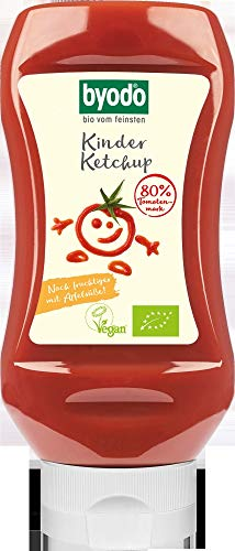 Byodo Bio Kinder Ketchup, 300 ml (6 x 300 ml)