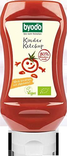 Byodo Bio Kinder Ketchup, 80% Tomate (6 x 300 ml)