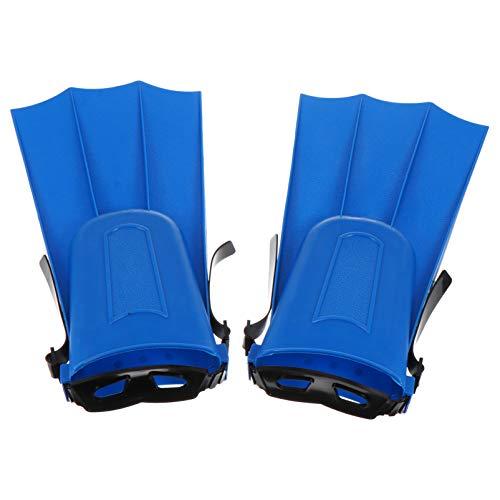 KESYOO 1 Paar Schwimmflossen Schwimmtrainingsflossen zum Schnorcheln Schwimmen Tauchen Schwimmflossen Bequeme Schwimmflossen für Erwachsene Männer Frauen Kinder Kinder Blau Größe 40-44