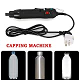 Electric Bottle Capping Machine Handheld Bottle Capper Screwing Capping Tools...