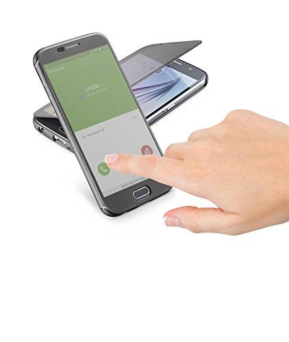 Cellular Line BOOKTOUCHGALS6EK Galaxy S6 Edge Black