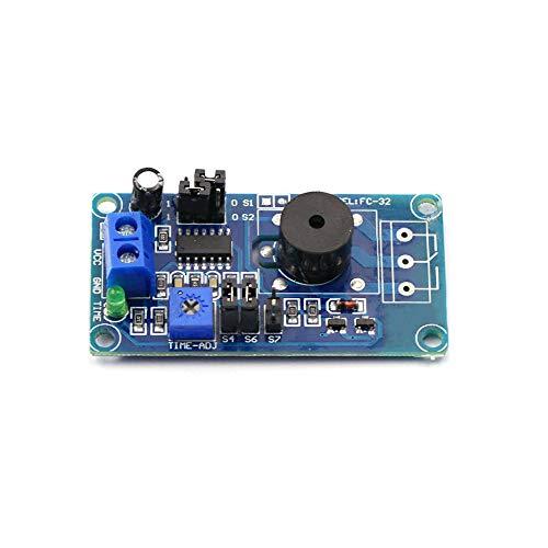 Buy Taidacent High Performance 5V Low Voltage Alarm Buzzer Power-on Delay Alarm Warning Buzzer for I...