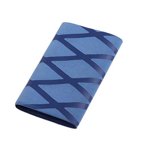 Inzopo Tenis de mesa de goma suave absorción de sudor Overgrip Ping Pong Paddle Bat Handle Cinta antideslizante - Azul