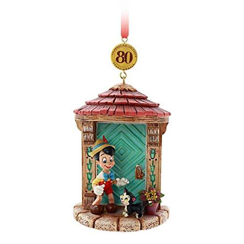 shopDisney Disney Store Pinocchio Legacy Hanging Ornament 80th Anniversary