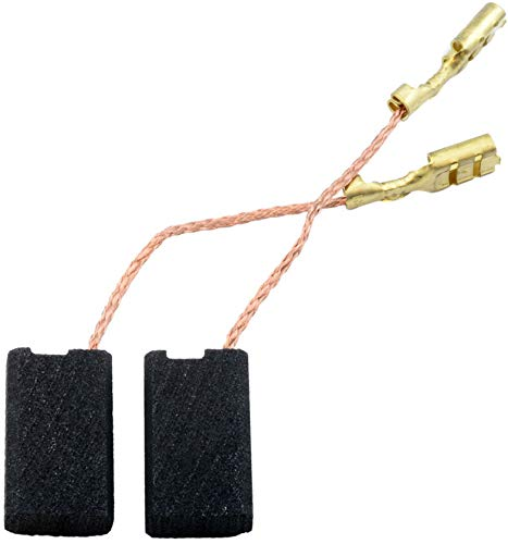 Escobillas de Carbón para ATLAS COPCO WS480 amoladora - 5x10x17mm - 2.0x3.9x6.7