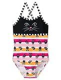 Schiesser Mädchen Water Cat Badeanzug, Mehrfarbig (Multicolor 1 904), (Herstellergröße: 104)