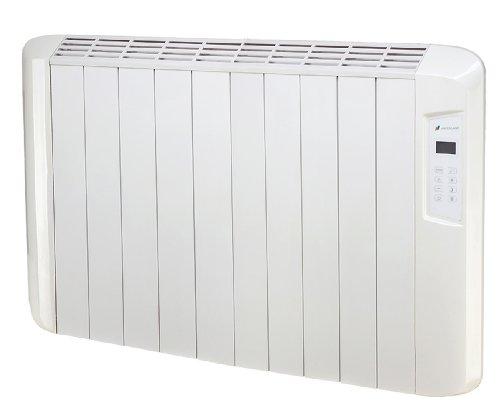 Haverland ES10D ES10D-Emisor Térmico Digital Seco, 1250 W, Color Blanco