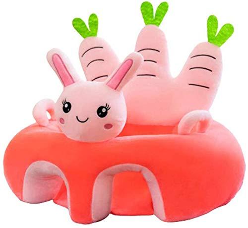 UNCTAD 50 * 50 cm Baby Plüsch Stuhl Sofa - Gefüllt mit PP-Baumwolle Infant Learning Sitz Stuhl Mit Armlehnen-Design - Die Beste Geschenkauswahl für Weihnachten, Kindertag und GeburtstagB