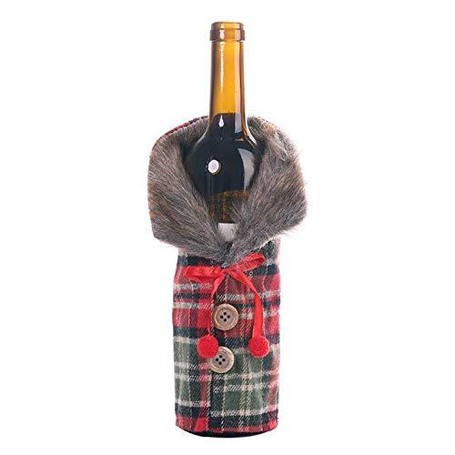 Happy-L Decoraciones, Botella 3pcs / Lot Nuevo Navidad decoración de la Tabla...