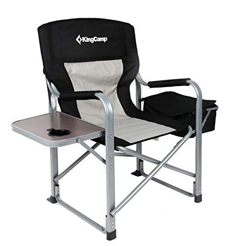 KingCamp Camping Falt Stuhl Klapp Sessel Garten Outdoor Kühl Tasche Tisch 150 kg