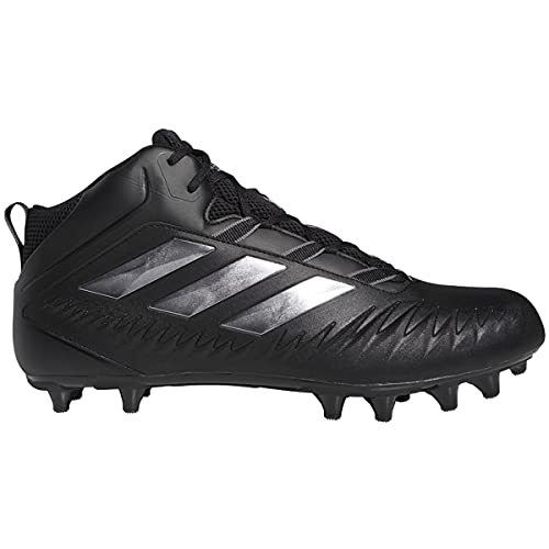 adidas Nasty Fly (Wide) 20 Cleat - Men's Football Core Black/Night Metallic/Grey