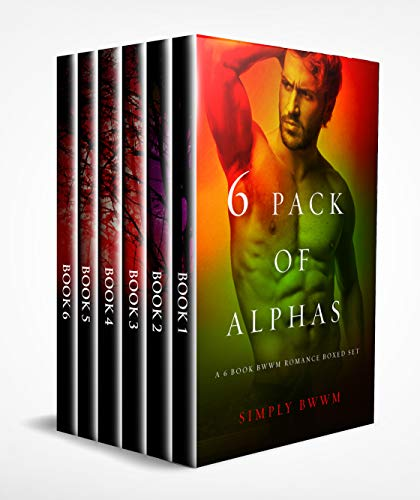 6 Pack Of Alphas: A 6 Book BWWM Romance Bundle (English Edition)
