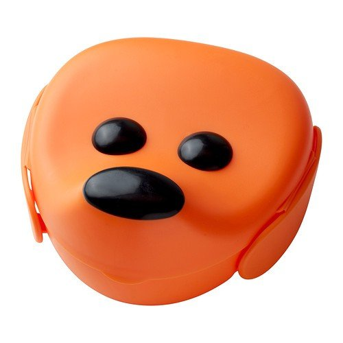 IKEA SMASKA Lunchbox in orange