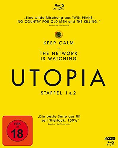 Utopia - Staffel 1+2 [Alemania] [Blu-ray]