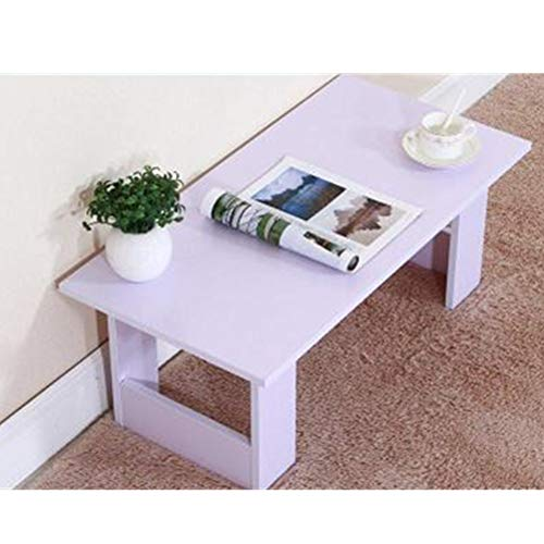 YGWE Side Table Family Living Room Creative Small Family Home Coffee Table Balcony Small Tatami Coffee Table Coffee Tea Sofa Side Table Living Room Furniture (Color : Four, Size : M)