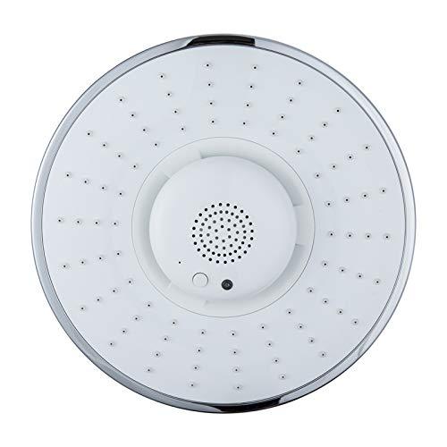 Wireless Speaker Showerhead, Bluetooth showerhead Speaker, 3 in 1 Bathroom Shower Bluetooth Waterproof, Bluetooth Speaker Shower Head for Music and Calls with Full Coverage Spray