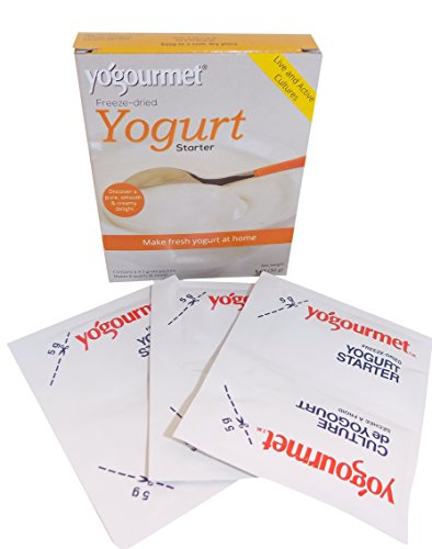 Yogourmet Freeze Dried Yogurt Starter, 1 ounce box (Pack of 3) (Packaging May Vary)