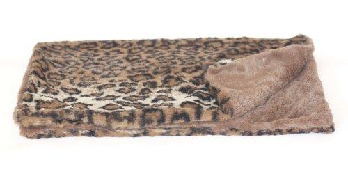 Der Hund Squad Minkie Binkie Platz Haustierdecke, 16,5von Kunstdruck, Dark braun Leopard