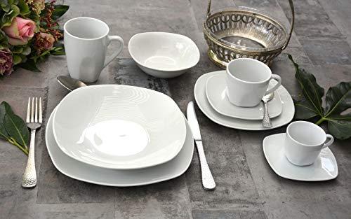 ronds Retsch Arzberg Combi Service Classico blancs 30 pièces Porcelaine Set